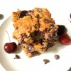 Gluten-Free Cherry Chocolate Chip Blondie Bars Recipe