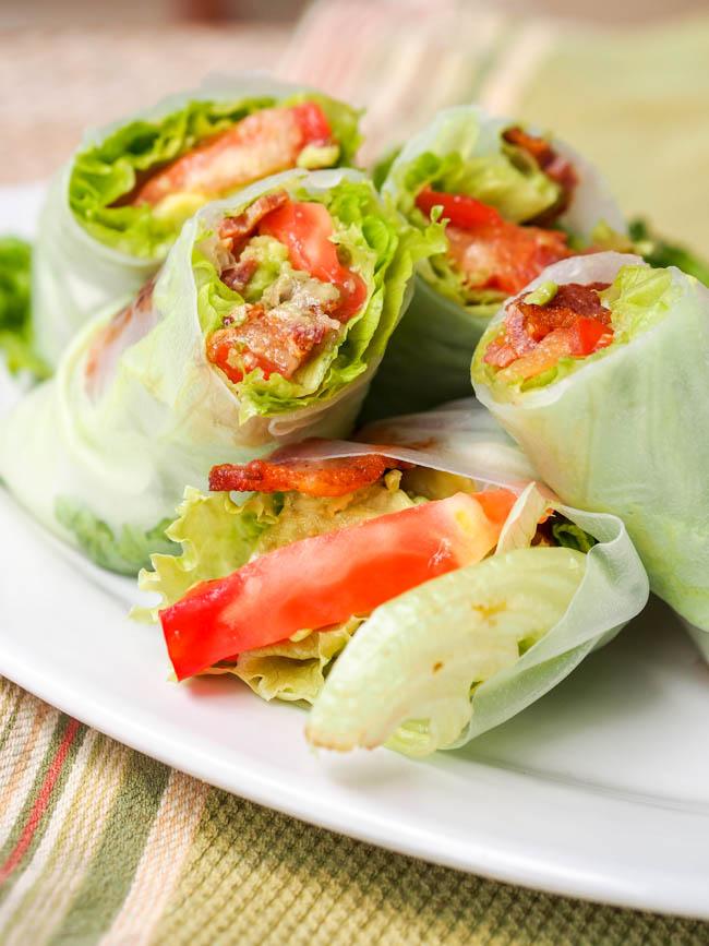 Gluten-free BLT rolls
