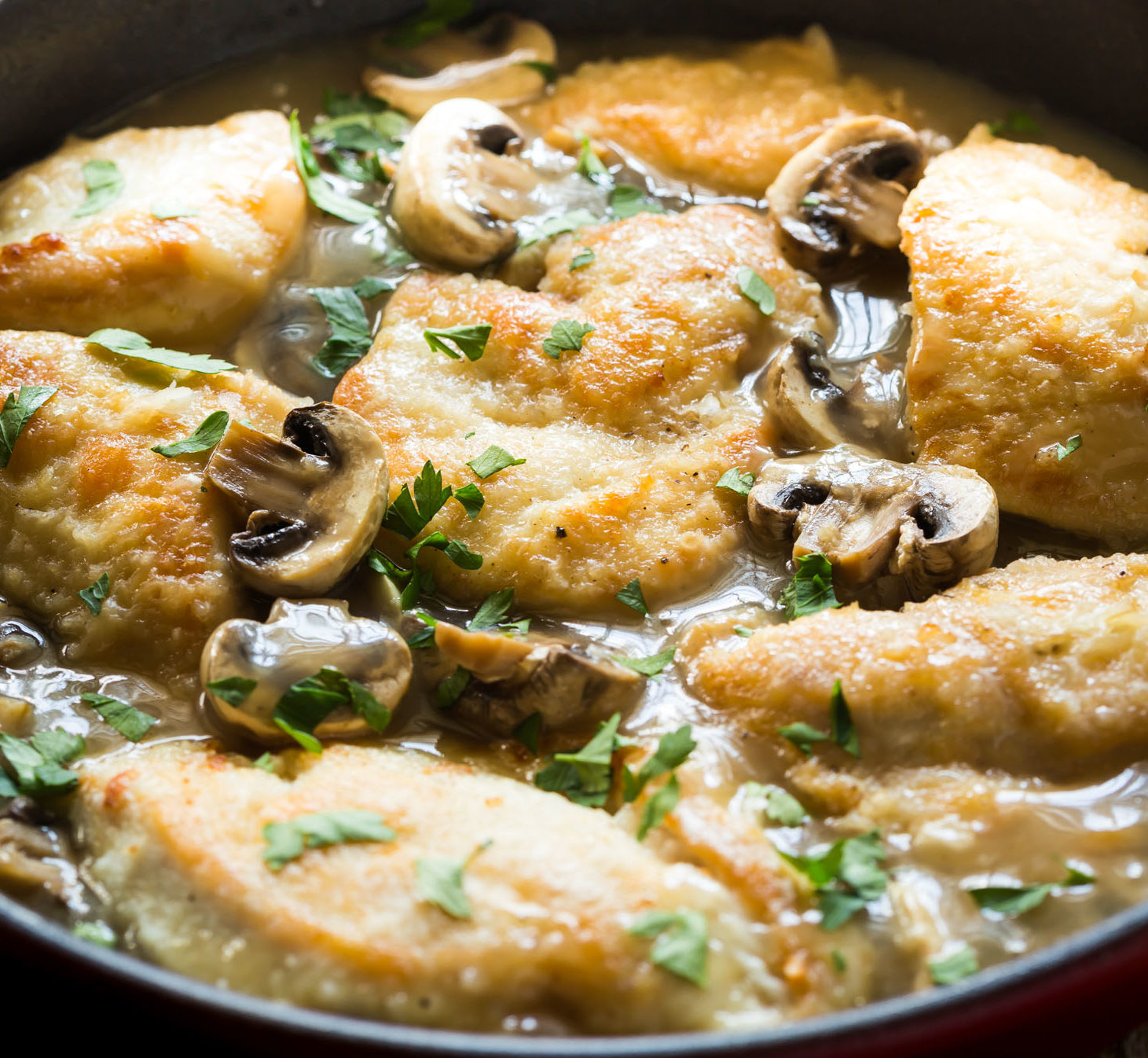 GF chicken marsala
