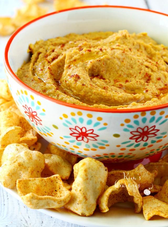 gluten-free pumpkin hummus